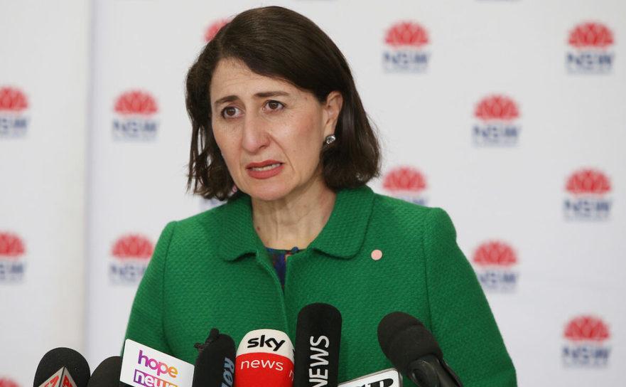 Premierul statului australian New South Wales Gladys Berejiklian extinde draconic restricţile în zona metropolitană Sydney - 28 iulie 2021