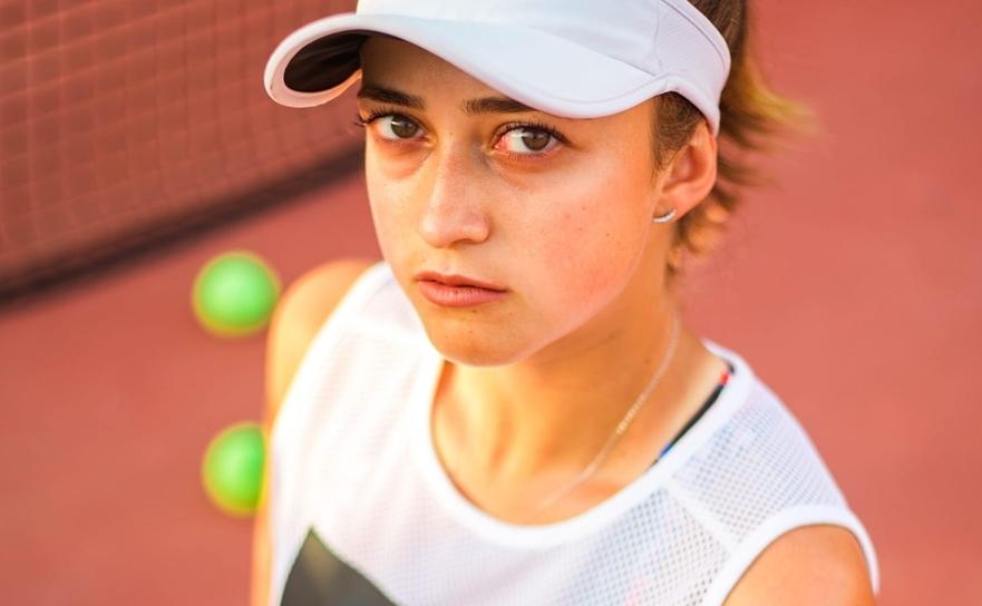 Jucătoarea română de tenis Oana Gavrilă.