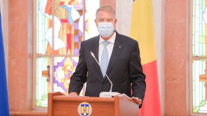 Klaus Iohannis la Chişinău