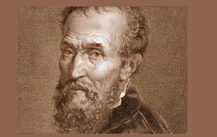 Michelangelo Buonarroti (Caprese, 6 marzo 1475 – Roma, 18 febbraio 1564)