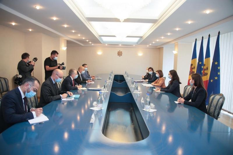 Întrevedere dintre delegaţia Franţei şi a R.Moldova, la Chişinău