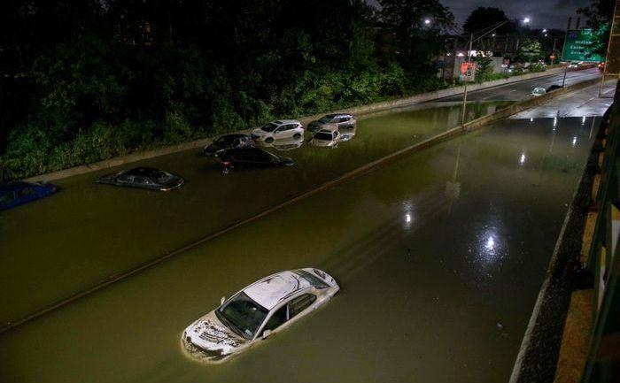 Inundaţii fulger în New York, 2 septembrie 2021