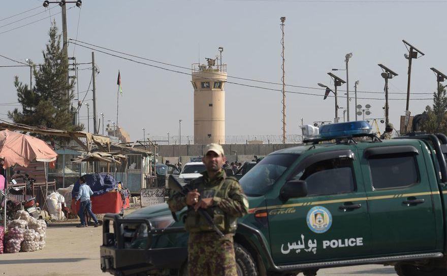 Baza de la Bagram, Afganistan
