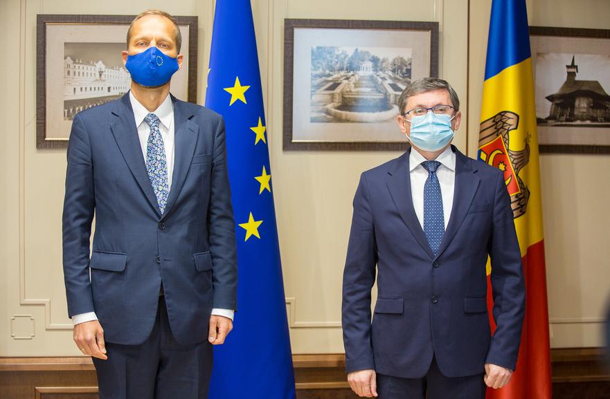 Igor Grosu şi Janis Mazeiks