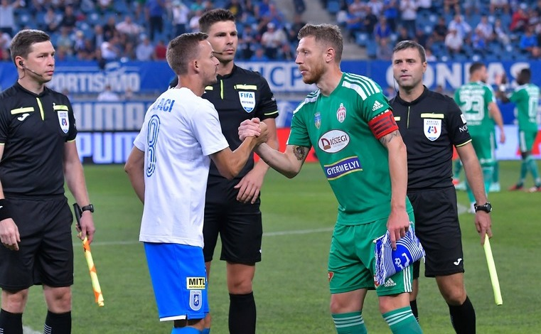 Universitatea Craiova - Sepsi OSK Sfântu Gheorghe 1-1 (1-1), în etapa a 8-a a Ligii I de fotbal.