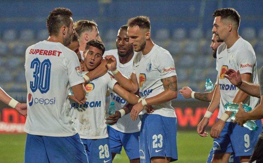 Farul Constanţa - Academica Clinceni 5-0  (2-0), în etapa a 8-a a  Ligii I de fotbal.