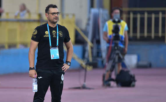 Antrenorul român Mihai Teja.