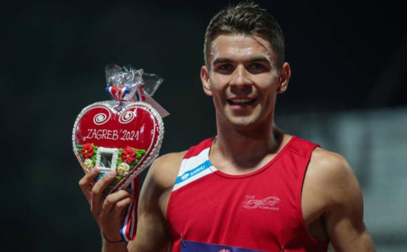 Atletul român Cătălin Tecuceanu.