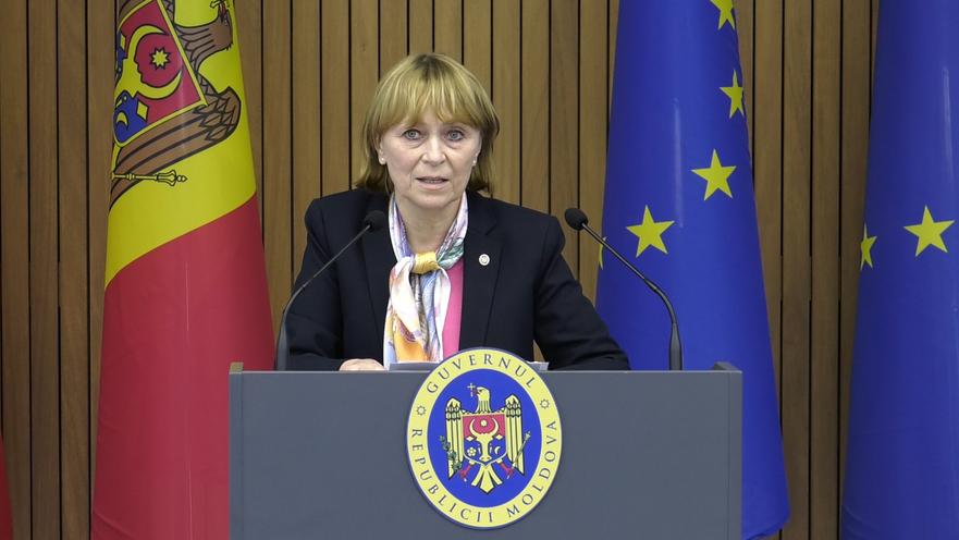 Ala Nemerenco, ministrul Sănătăţii al R. Moldova
