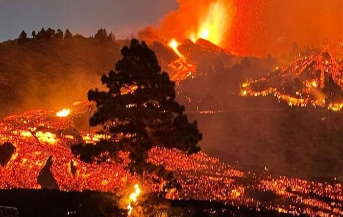 Erupţie vulcanică în Insula La Palma, Spania