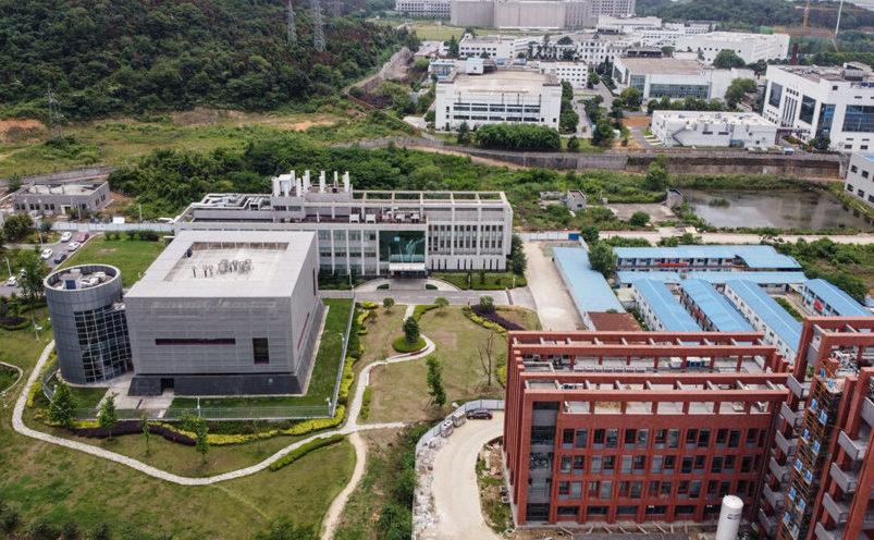 Laboratorul P4 din campusul Institutului de  Virologie Wuhan din Wuhan, provincia centrală Hubei din China, pe 13 mai  2020