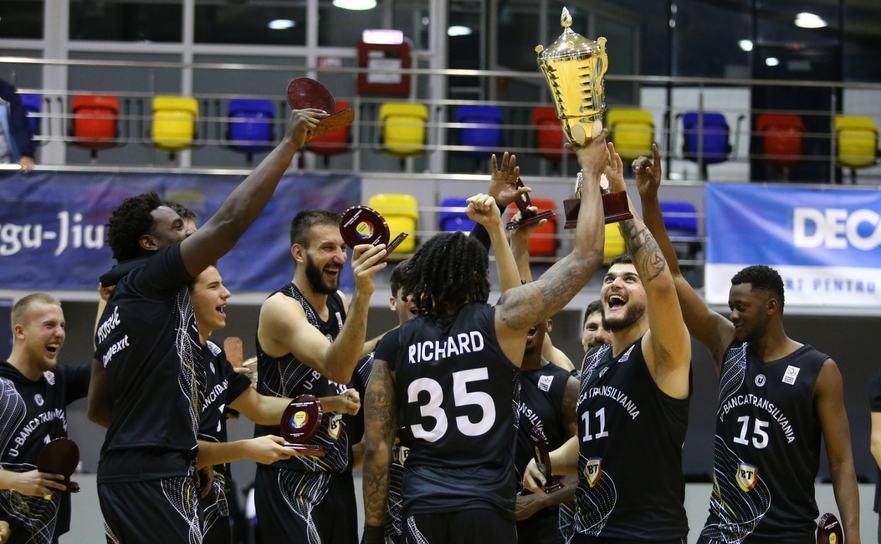 U-BT Cluj a cucerit Supercupa României la baschet masculin.