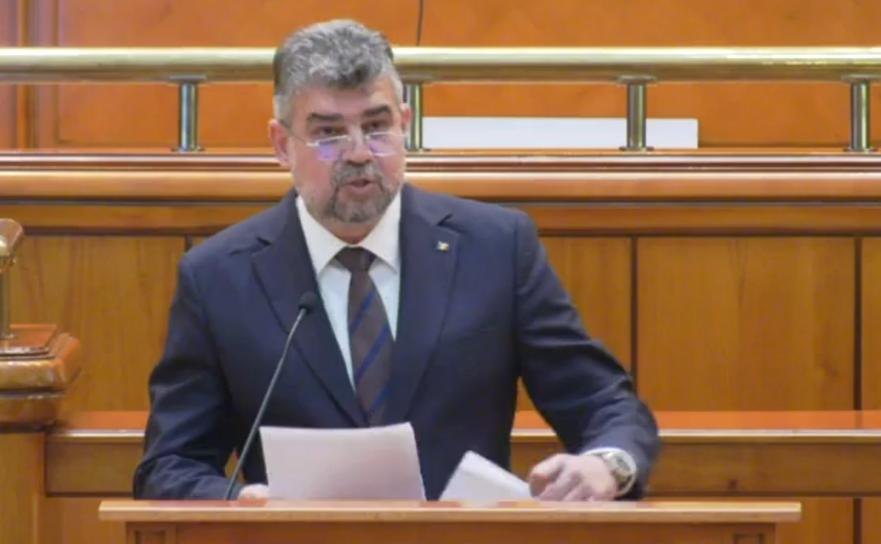 Marcel Ciolacu, preşedintele PSD