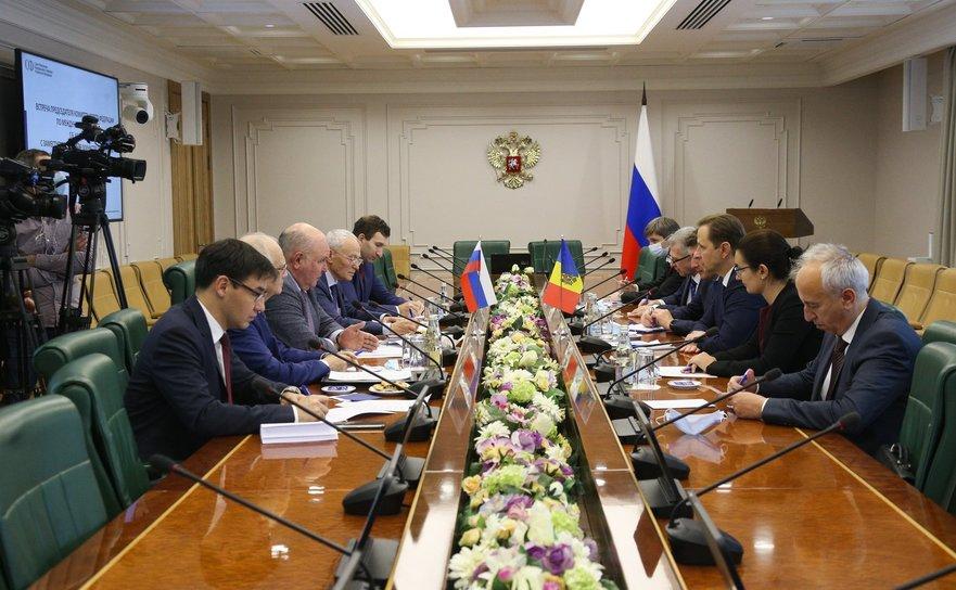 Delegaţie a R.Moldova, la Moscova