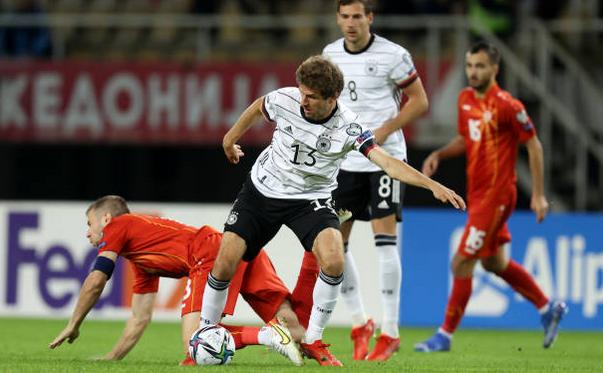 Germania, prima echipă calificată la CM 2022, după 4-0 cu Macedonia de Nord.