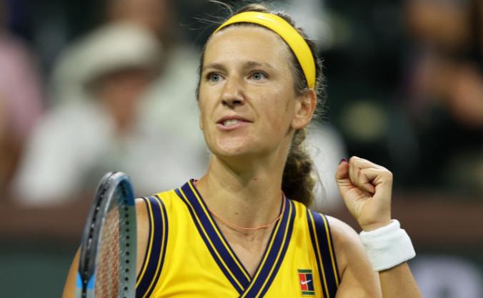 Jucătoarea belarusă de tenis Victoria Azarenka.