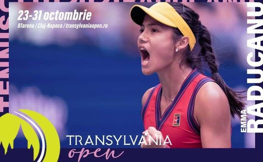 Jucătoarea de tenis Emma Răducanu.